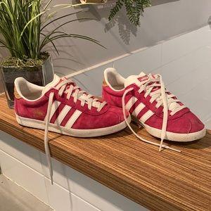 ADIDAS GAZELLE Sneakers pink Size 5
